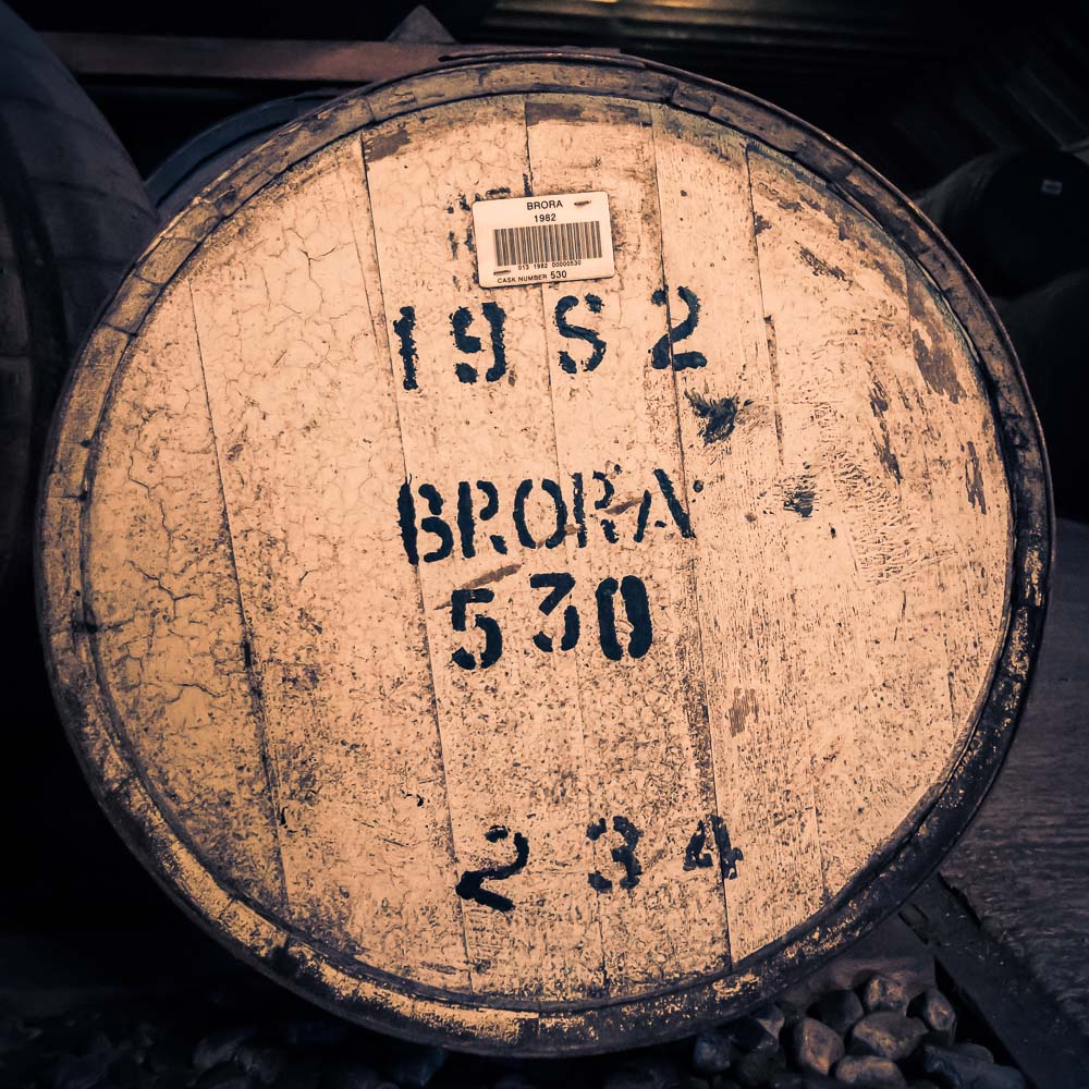 square photo of brora cask 530 from 1982