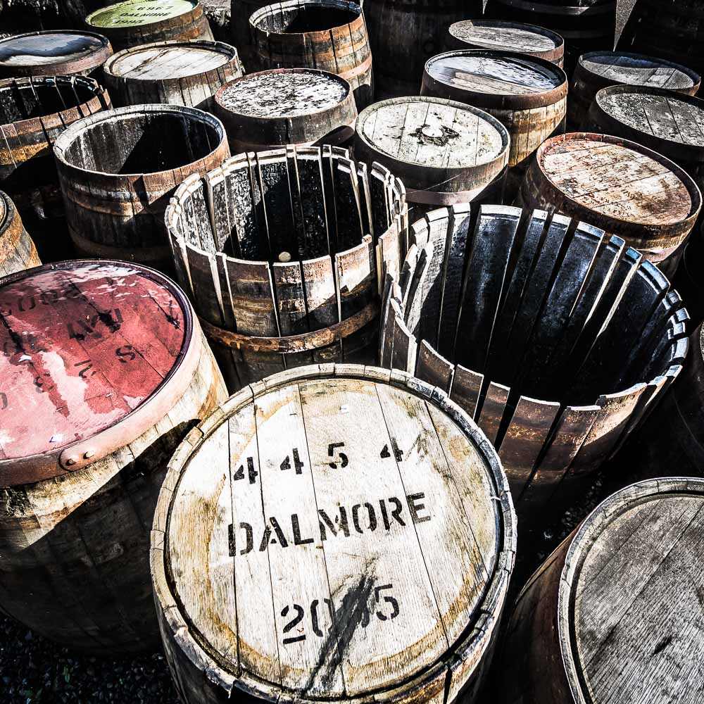 The Dalmore Distillery Empty Casks including 2005 and 2003